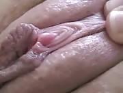 Film sexe d'un Clitoris en gros plan