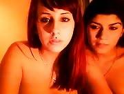Video sexe Visio coquine de deux lesbiennes